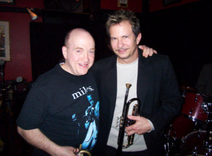 Lew Soloff and Gabriel at Rossini's Jazz Bar